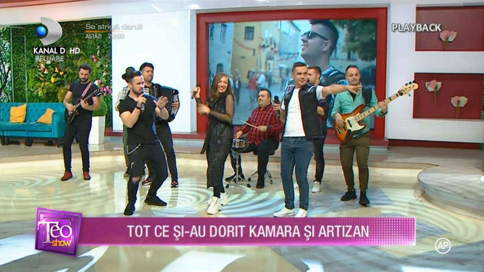 Artizan & Kamara – Ești tot ce mi-am dorit la Teo Show – Kanal D